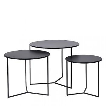 Bijzettafel trio meubelen