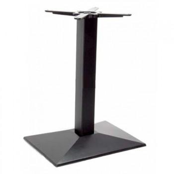 Tafelonderstel Horeca tafelonderstel zwart glad 55x40cm Horeca