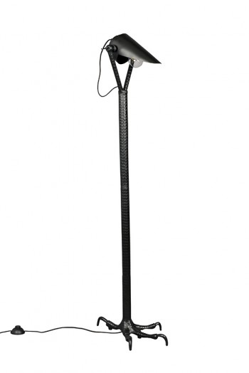 Verlichting Falcon floor lamp Black Dutchbone