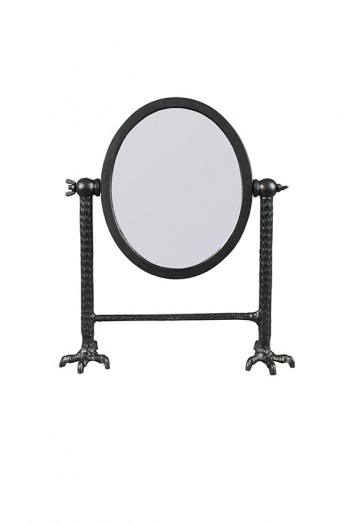 Decoratie Falcon mirror Black Dutchbone