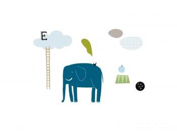 ELEPHANT STICKERS meubelen