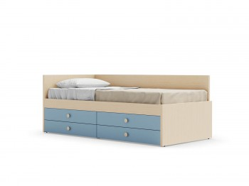 Bed EQUIPPED BED WITH NUK BACK PANEL NIDI kinderkamers - Tienderkamers