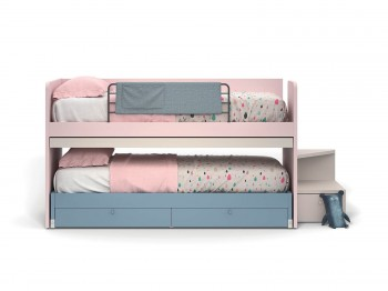 Bed ERGO RAISED BED NIDI kinderkamers - Tienderkamers
