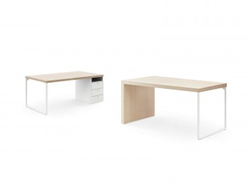 DESK WITH LOOM LEGS meubelen