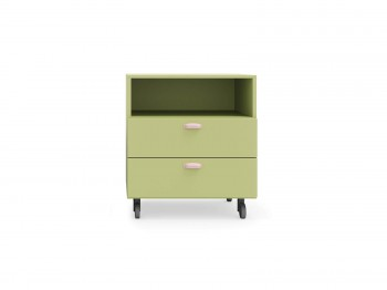 Kast DRAWER UNIT ON CASTORS NIDI kinderkamers - Tienderkamers