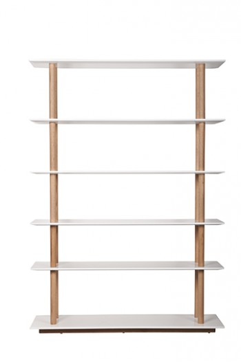 kast High on Wood bookshelf Zuiver