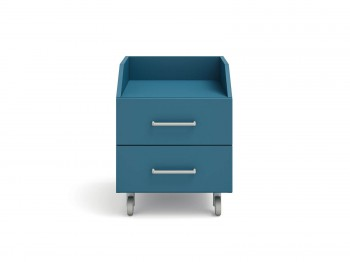 WILSON BEDSIDE TABLE ON CASTORS meubelen