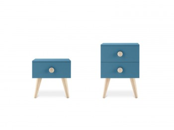 Kast WOODY BEDSIDE TABLE NIDI kinderkamers - Tienderkamers