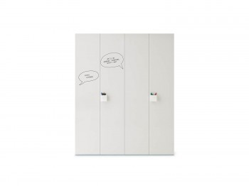 WARDROBE WITH GRAPHIC HINGED DOOR meubelen