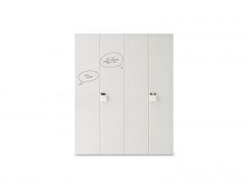 Kleerkast WARDROBE WITH GRAPHIC HINGED DOOR NIDI kinderkamers - Tienderkamers