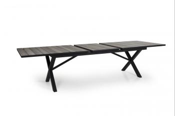 HILLMOND DINING TABLE BLACK 240-310 meubelen
