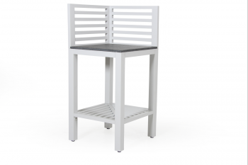 BELLAC OUTDOOR KITCHEN WHITE Corner meubelen