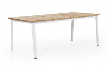 OLIVET DINING TABLE WHITE 200-100 meubelen