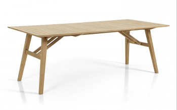 CHIOS DINING TABLE NATURAL COLOR 220/100 meubelen