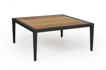 WHISTLER COFFEE TABLE BLACK 90/90 meubelen