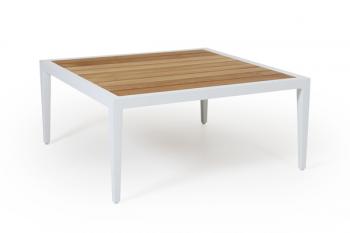 WHISTLER COFFEE TABLE WHITE 90/90 meubelen