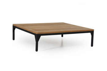 BASTIA COFFEE TABLE BLACK 90/90 meubelen