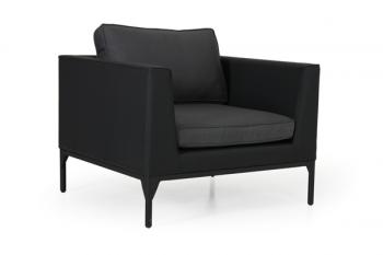 BASTIA ARMCHAIR BLACK meubelen