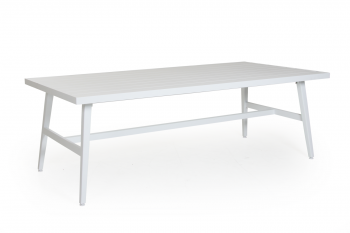 CALMAR DINING TABLE WHITE meubelen