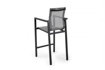 BELFORT BAR STOOL BLACK meubelen