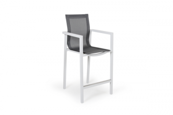 BELFORT BAR STOOL WHITE meubelen