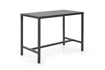 BELFORT BAR TABLE BLACK 130/70 meubelen