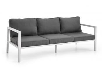 BELFORT 3-SEATER SOFA WHITE meubelen