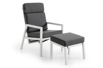 BELFORT POSITION ARMCHAIR WHITE meubelen