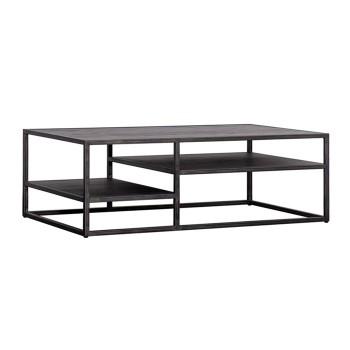 Tafels Salontafel Hudson 120x40 - zwart Eleonora