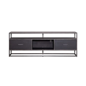Kasten TV meubel Hudson 150 cm - zwart Eleonora