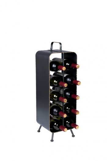 Decoratie Stalwart wine rack Dutchbone