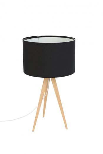 Tripod Wood table lamp meubelcollecties