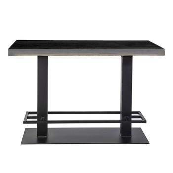 Tafels Countertafel - 140x80 zwart Eleonora