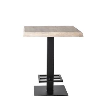 Tafels Countertafel - 80x80 naturel Eleonora