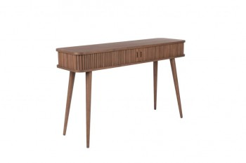 Tafel Barbier Walnut console table Zuiver
