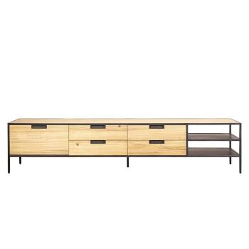 Madison light - TV meubel 210 cm meubelen