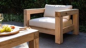 Lounge LOUNGE FAUTEUIL Thuyn - Massieve tuinmeubelen