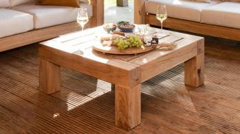 Lounge LOUNGE TAFEL Thuyn - Massieve tuinmeubelen