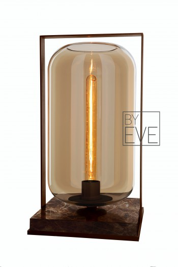 Tafellampen Table Tube wood 50 BY EVE VERLICHTING