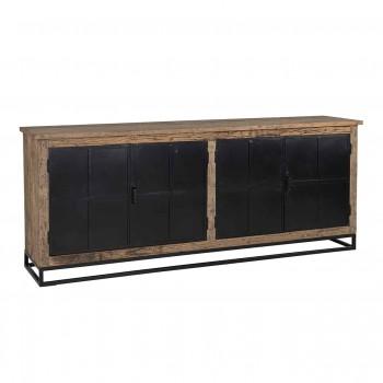 Kasten Dressoir Raffles 4-deuren, gerecyceld hout Richmond Interiors