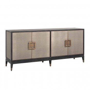 Kasten Dressoir Bloomingville 4-deuren shagreen (Goud) Richmond Interiors