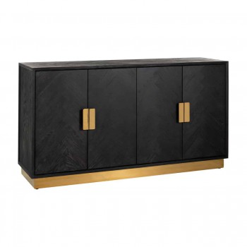 Kasten Dressoir Blackbone gold 4-deuren Richmond Interiors