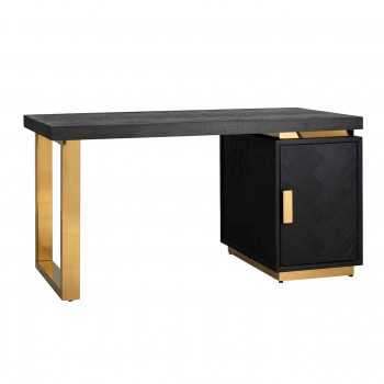 Kasten Bureau Blackbone gold 1-deur Richmond Interiors