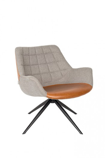 Zetel Doulton lounge chair Zuiver