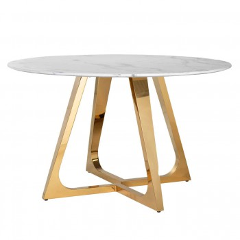 Eettafels Eettafel Dynasty rond 130Ø Richmond Interiors