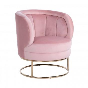 Zetels Fauteuil Felicia Pink velvet Richmond Interiors