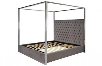 Bed Victoria 180x200 excl. matras (Quartz Stone 101) meubelen