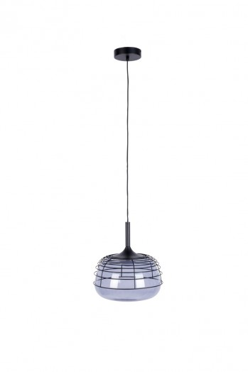 Smokey pendant lamp