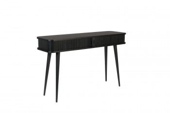 Barbier Black console table