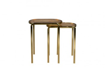 Tafels Bandhu side table set of 2 Dutchbone